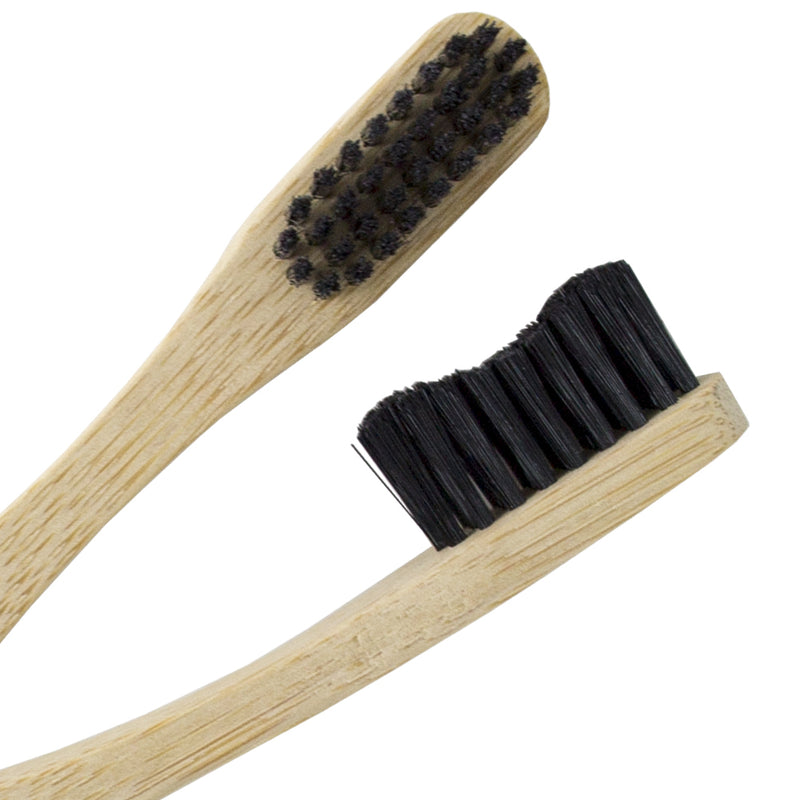 FRESC Biodegradable Bamboo Toothbrush Style B - Pack of 4