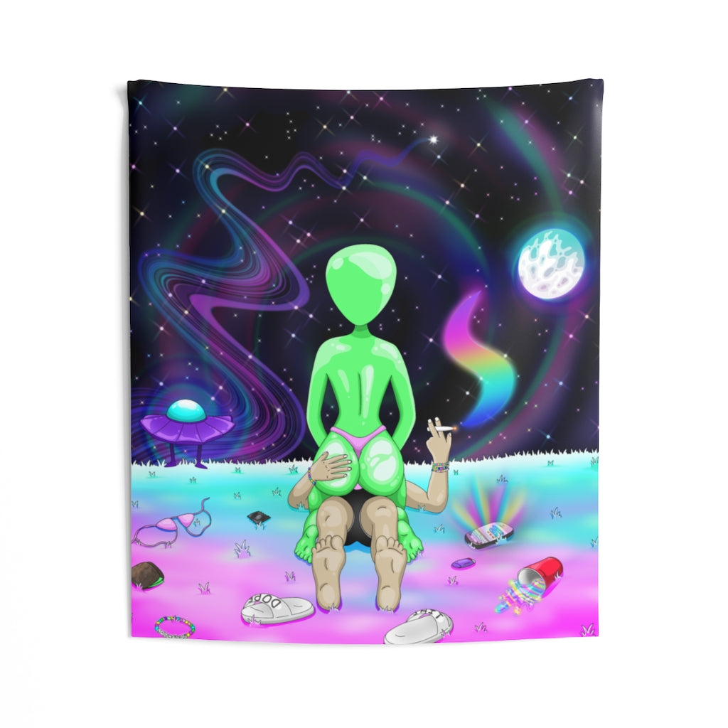 Space Booty Tapestry