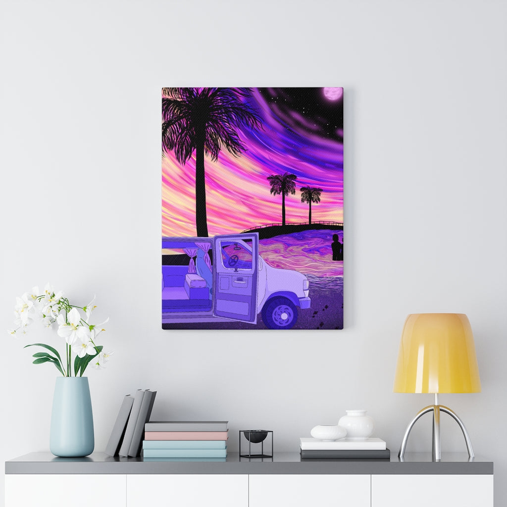 Cali Vibes Canvas