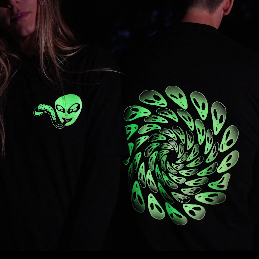 GLOW Alien Swirl Long Sleeve
