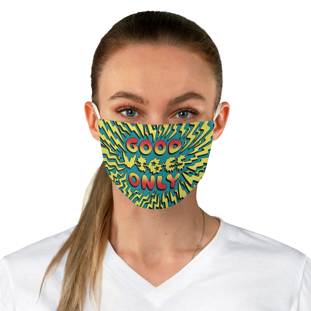Good Vibes Only Mask