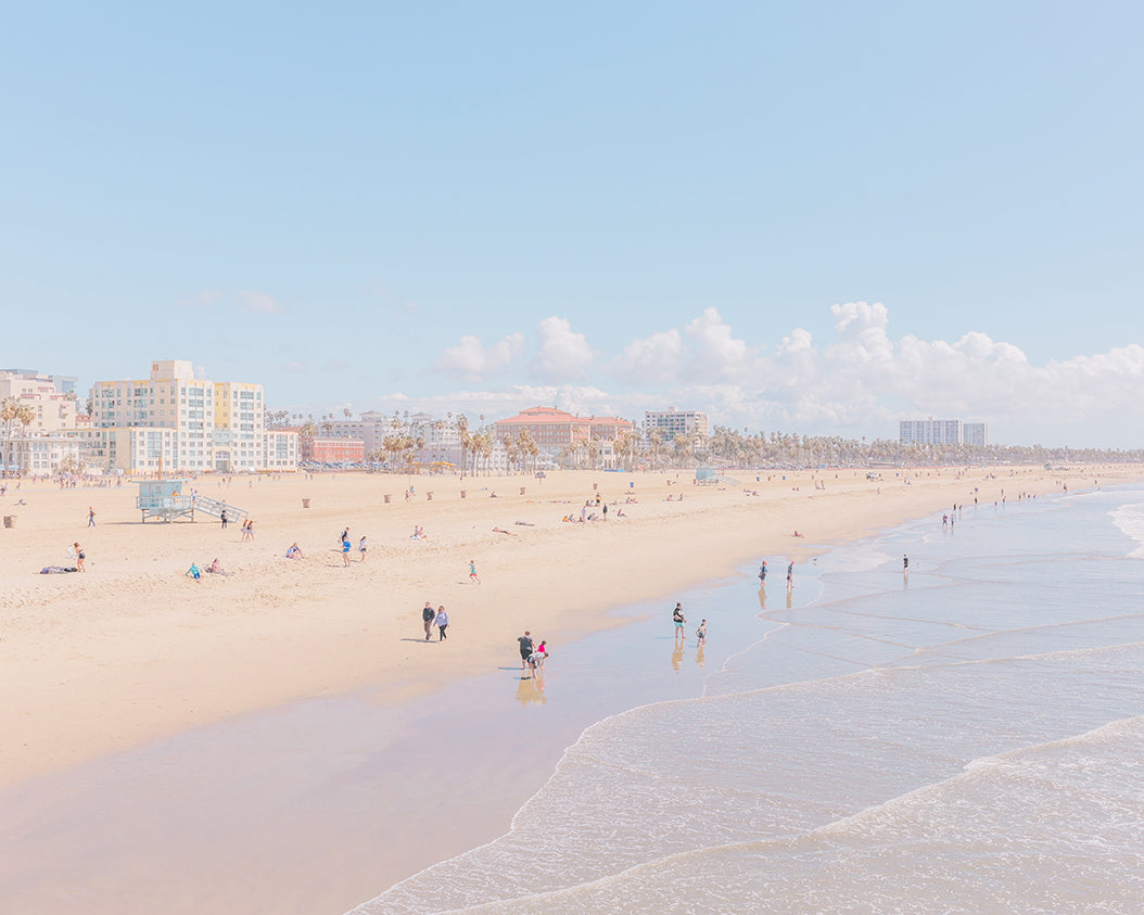 An image of Venice Beach, by emerging Portuguese photographer Teresa Freitas.