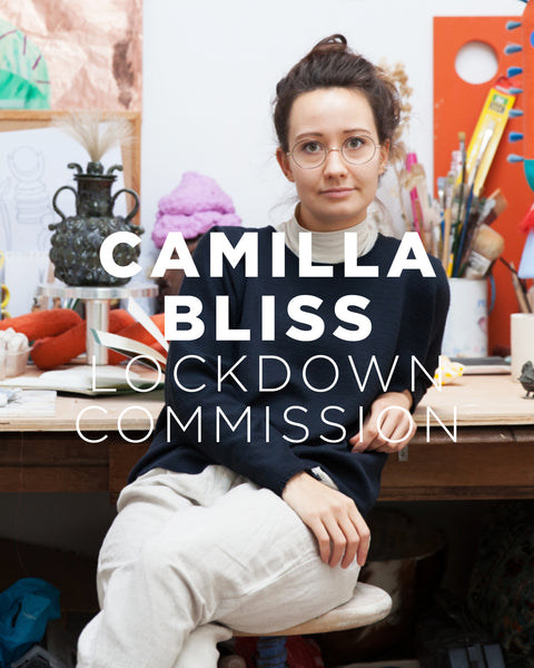 Lockdown Commission: Sculptor Camilla Bliss