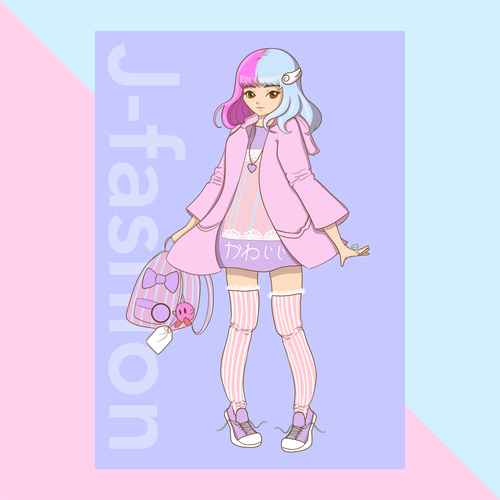 JFashion Fairy Kei Print