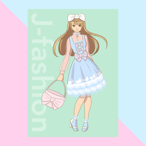 JFashion Lolita Print