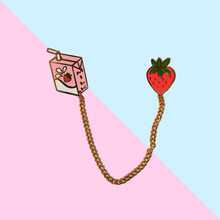 Load image into Gallery viewer, Strawberry Milk Pin