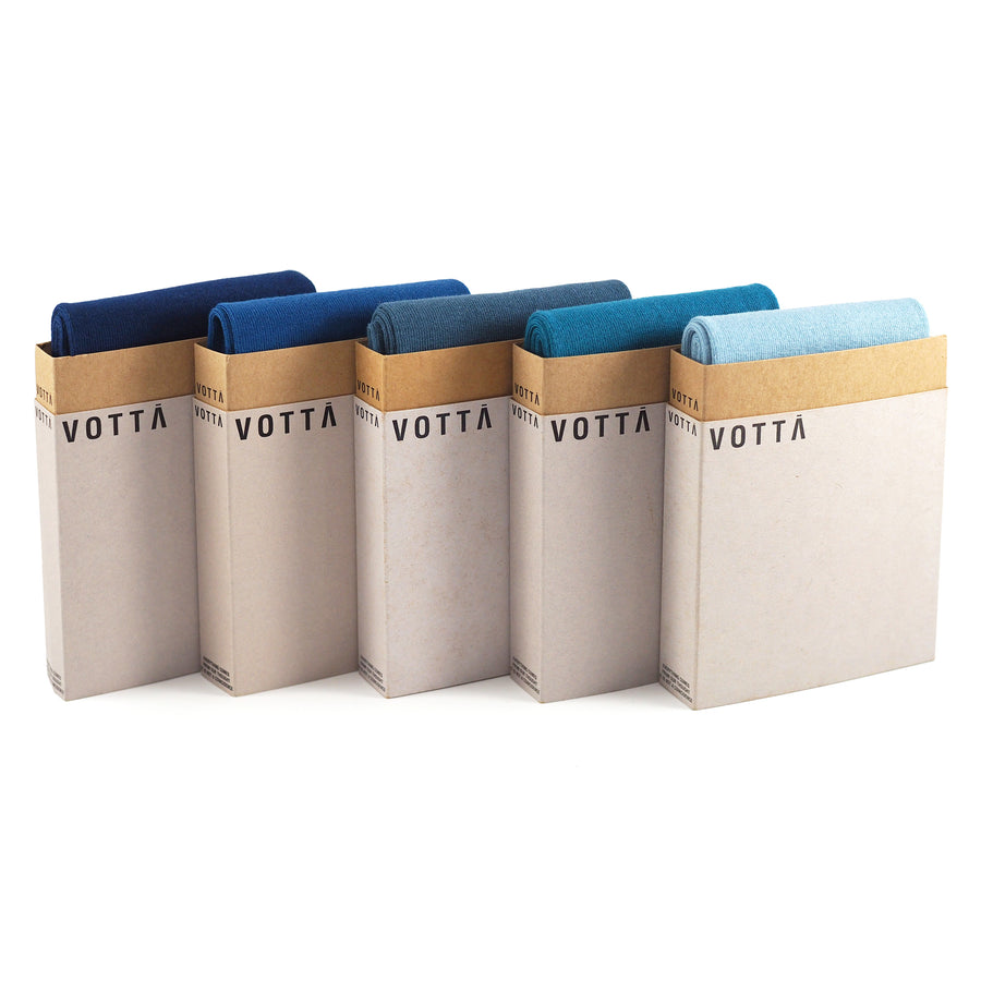 Multicolor Blue (5-Pack) - Votta Socks