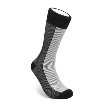 Men's Black & White BLanCHE Socks