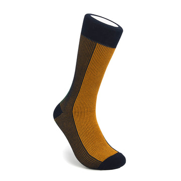 Men's Black, Orange & Green BLanCHE Socks
