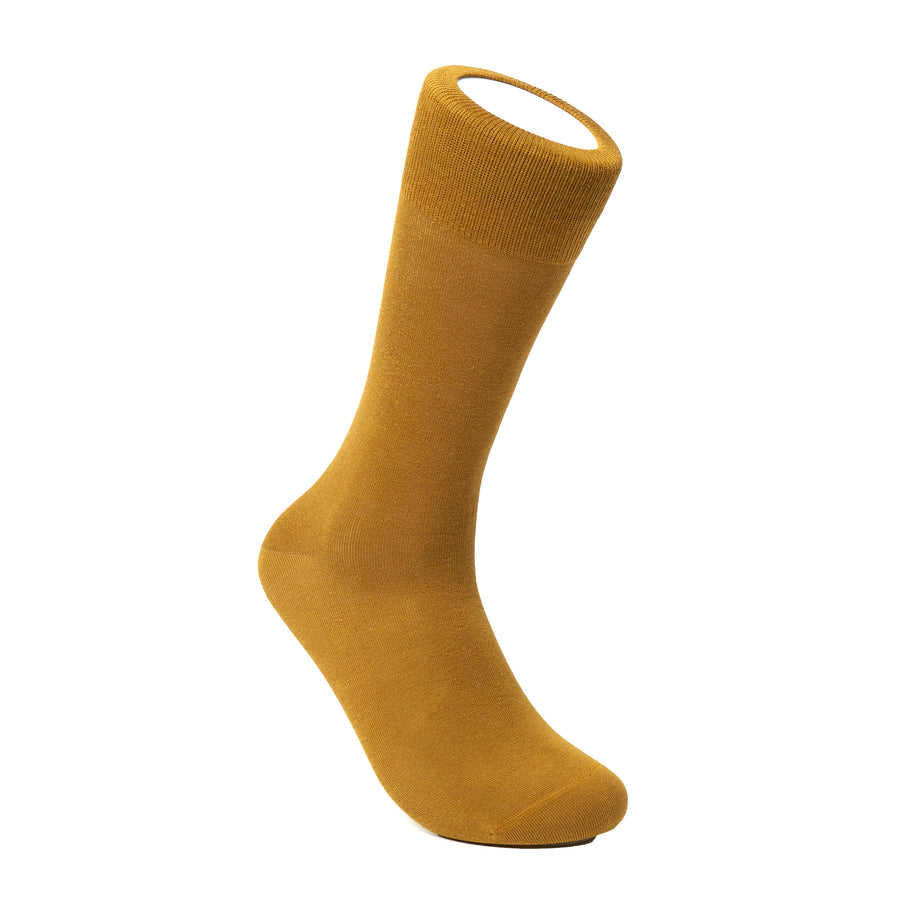 Men's Dried Tobacco Socks