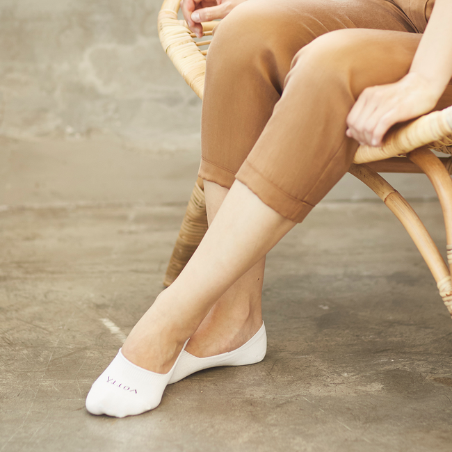 White No Show Women - Votta Socks