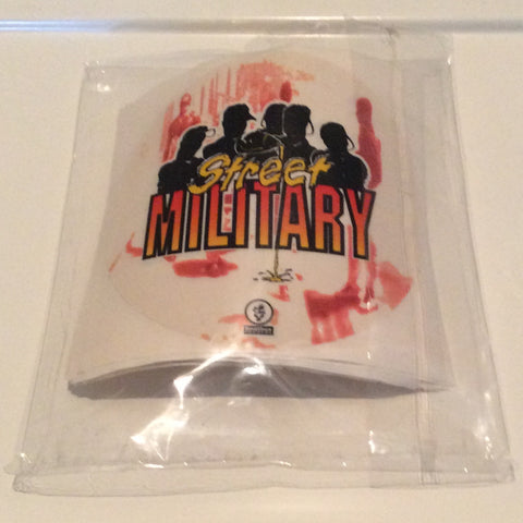 STREETMILITARYBRAND POUR-UP STICKERS