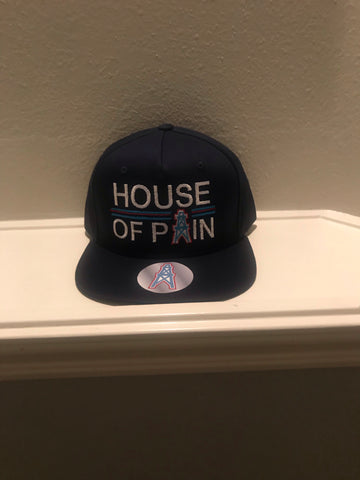 HOUSE OF PAIN BLACK SNAPBACK CAPS