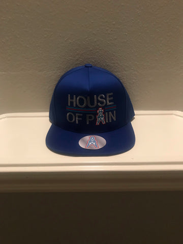 HOUSE OF PAIN BLUE SNAPBACK CAPS