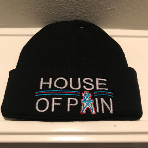 HOUSE OF PAIN BLACK BEANIES