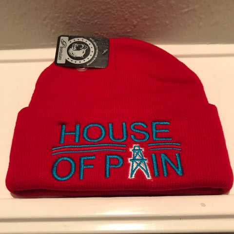 HOUSE OF PAIN RED BEANIES