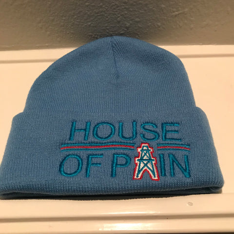 HOUSE OF PAIN BLUE BEANIES