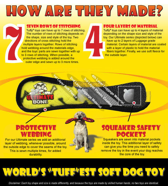 tuffy's strongest dog toys