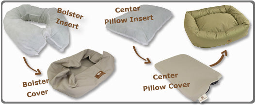 west paw bumper bed parts