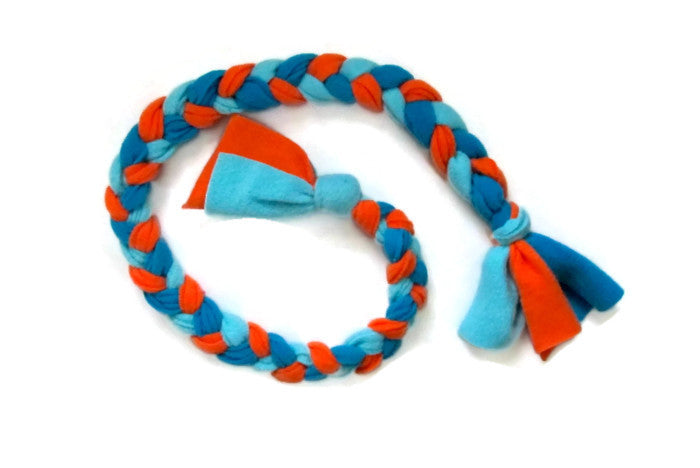 fleece tug of war rope