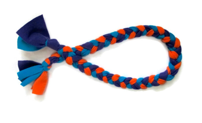 fleece tug toy
