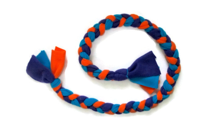 dog tugging toy