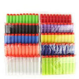 Nerf N-Strike Elite Compatible Darts / Bullets - RAINBOW COLORS - Set of 100 - Closest to Nerf Brand