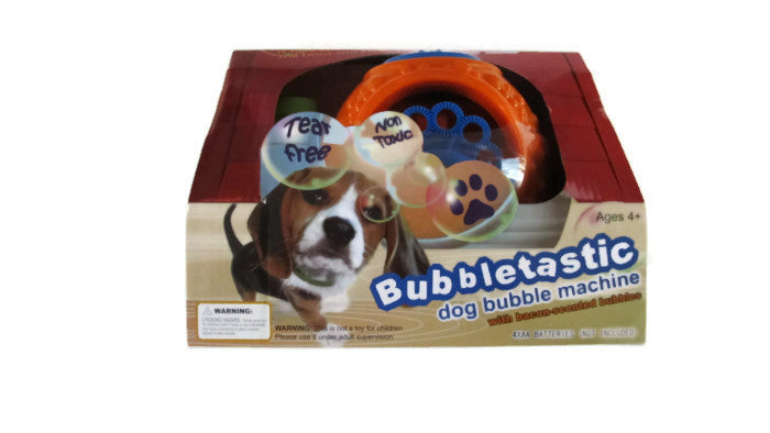 dog bubble blower