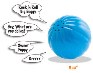 Babble Ball Talking Dog Toy