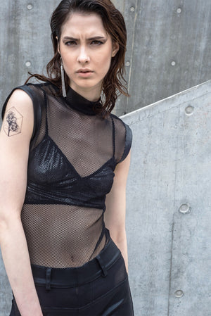 Mesh Black Bodysuit
