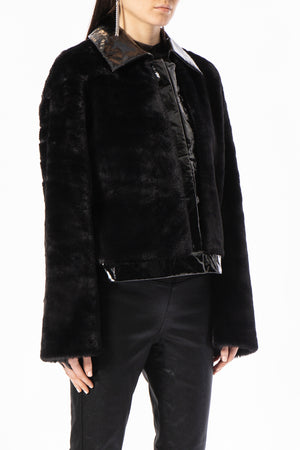 Bomber Faux Fur Jacket
