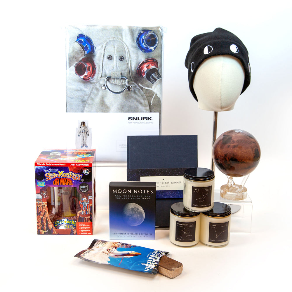 Space gift guide group product photo.