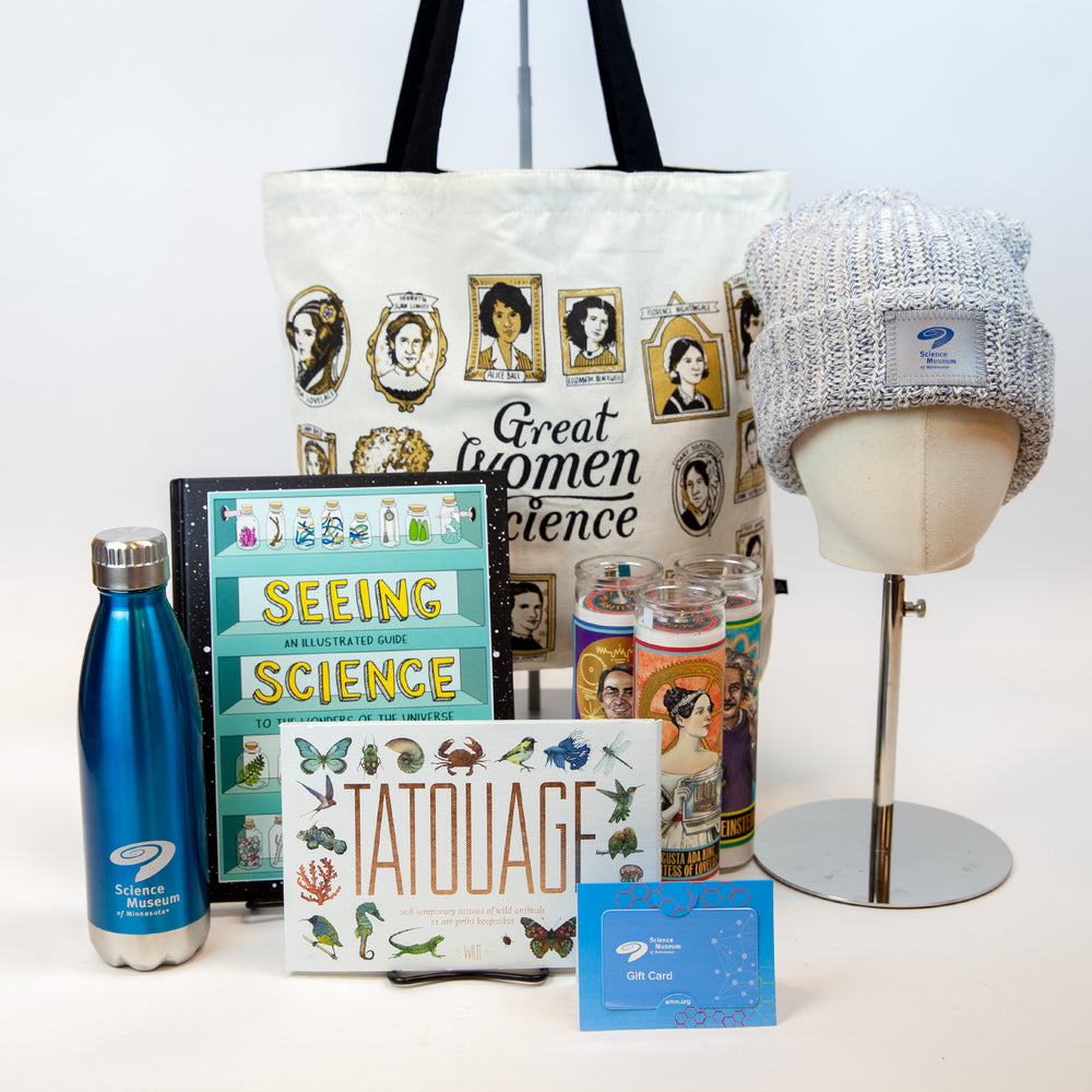 Science gift guide group product photo.
