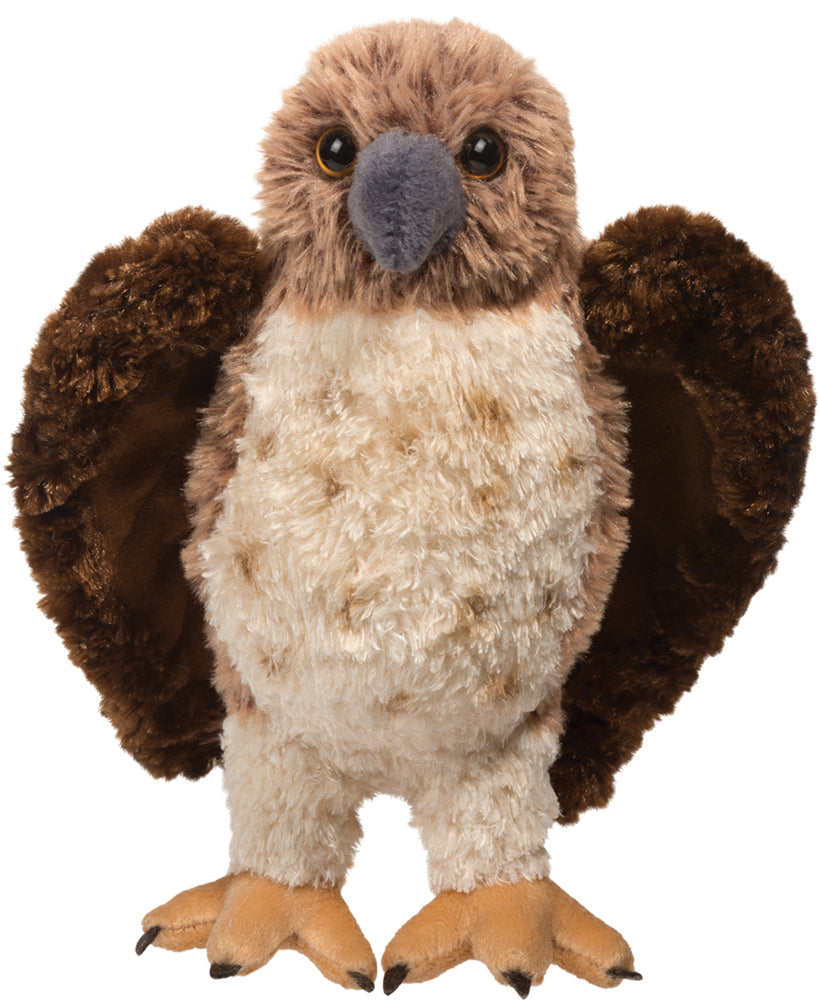 Red Tailed Hawk Plush