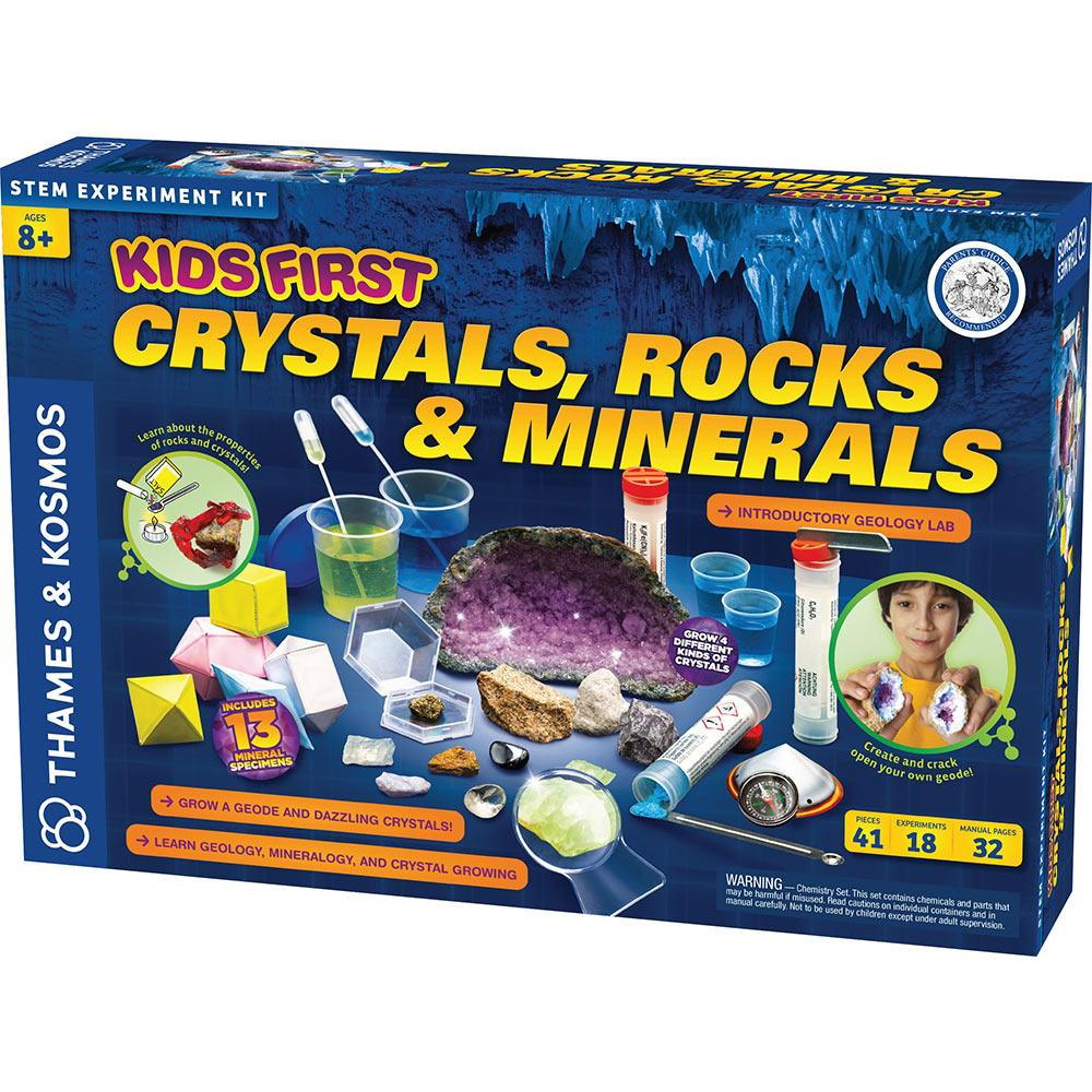 Kid's First Crystals, Rocks & Minerals