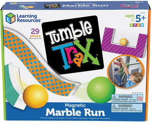 Tumble Trax Magnetic Marble Run Activity Set
