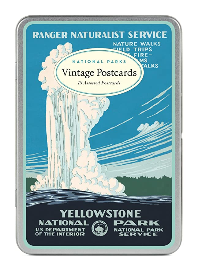 National Parks Vintage Postcards