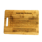 Periodic Table Bamboo Cutting Board