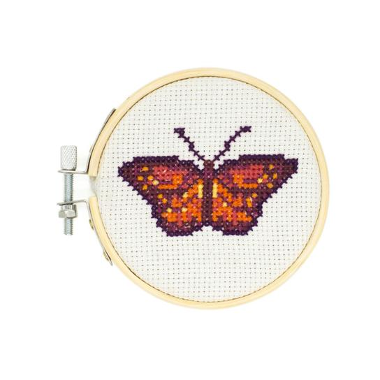 Butterfly Mini Cross Stitch Kit
