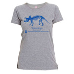 Triceratops Fitted T-Shirt (Adult)