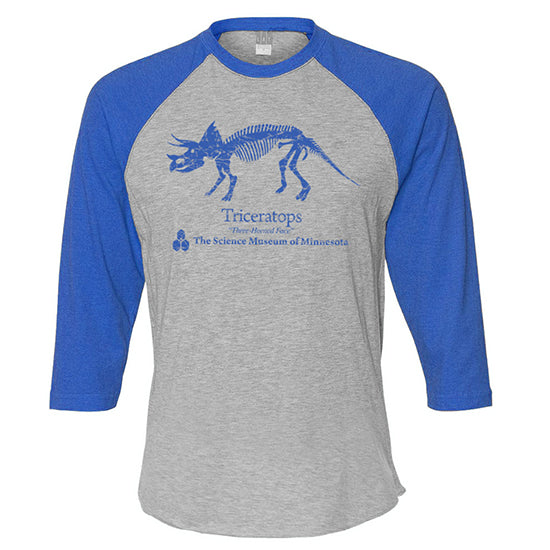 Triceratops 3/4 Sleeve Shirt (Adult)