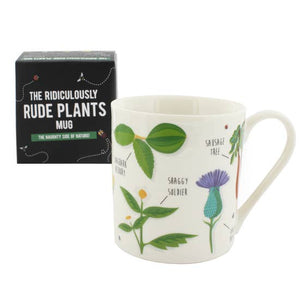 Ridiculously Rude Plant Mug
