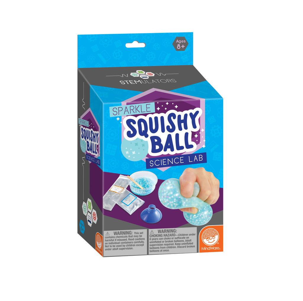 Sparkle Squishy Ball Science Lab STEMulator Kit