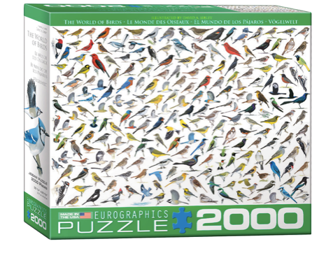 The World of Birds 2000 Puzzle