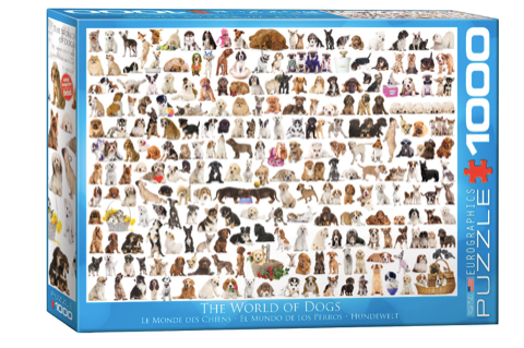 World of Dogs 1000 Puzzle