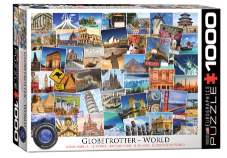 Globetrotter World 1000 Puzzle