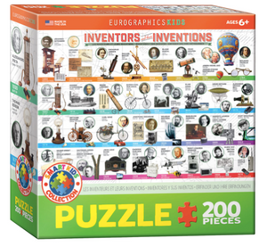 Inventors & their Inventions 200 Puzzle