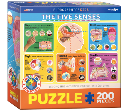The Five Senses 200 Puzzle
