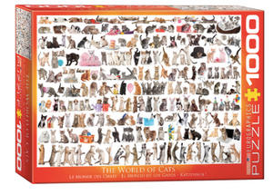 World of Cats 1000 Puzzle