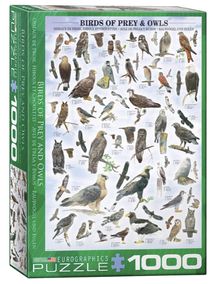 Birds of Prey 1000 Puzzle